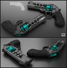 Concept of sci-fi shotgun for fictional story. It is supposed to use battery insted of standard bullets. TOM - Concept of futuristic shotgun Anime Weapons, Sci Fi Weapons, Weapon Concept Art, Weapons Guns, Fantasy Weapons, Guns And Ammo, Zombie Weapons, Armes Futures, Armadura Cosplay
