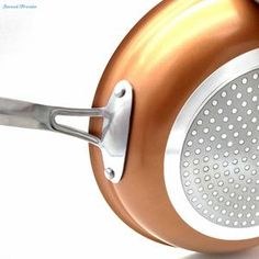 SLIPPY Non-stick Copper Frying Pan with Ceramic Coating and Induction [10 inches]