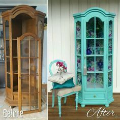 """""""Pretty good start of the new season! This one of the kind cupboard found it's new home in a matter…"""" Pretty good start of the new season! This one of the kind cupboard found it's new home in a matter… Refurbished Furniture, Farmhouse Furniture, Paint Furniture, Repurposed Furniture, Furniture Projects, Rustic Furniture, Furniture Makeover, Home Furniture, Furniture Design"""