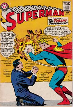 Superman 172  October 1964 Issue  DC Comics  Grade by ViewObscura