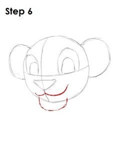 learn how to draw simba from the lion king with this step by step tutorial and video
