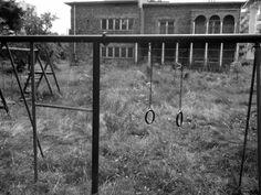 Abandoned playground, Warsaw