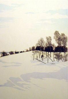 "John McNulty ""Snow Shadows II"""