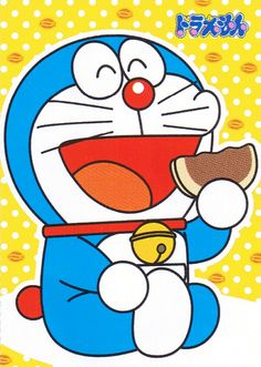 If you are gaga bout Doraemon, then you ought to get your hands on this snack to understand why your fave blue-and-white cartoon character loves to gobble up gazillions of Dorayaki. Doraemon Wallpapers, Cute Cartoon Wallpapers, Doremon Cartoon, Cartoon Characters, Haiku, Japanese Sweet, Kawaii Wallpaper, Animated Cartoons, Manga Anime