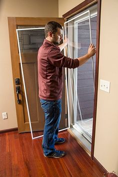 How To Switch Your Fullview Storm Door From Glass To A Screen Full Screen  Panel