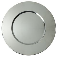 ChargeIt! by Jay Bridal Metal Round Charger