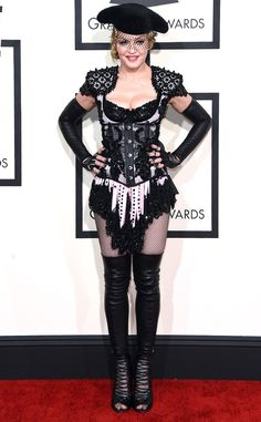 Madonna knows how to get people talking as she turns heads in Givenchy!