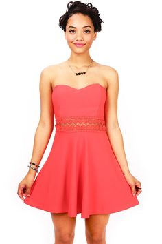Daylight Embroidered Dress   Skater Dresses at Pink Ice