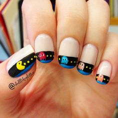 Pacman nagels