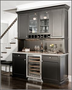 Wine Refrigerator Home Bar Traditional With Bar Accessories Traditional  Artificial Flowers. Built In ...
