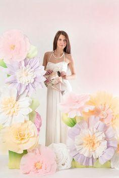 Свадебный декор на заказ #Paperflowers