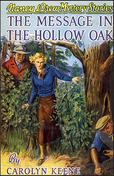 .Nancy Drew The Message in the Hollow Oak