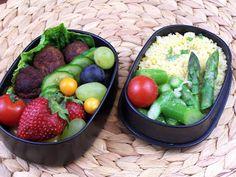 Lecker Bentos und mehr: Bento Nr. 263 Couscous mit Spargelsalat