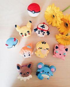 Pokemon Macarons from Honey & Butter
