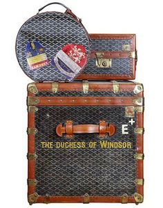 The Duchess of Windsor's Goyard luggage