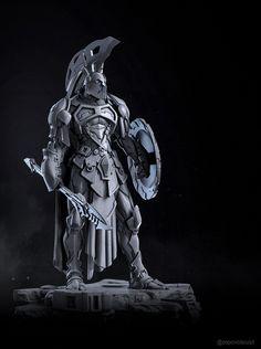 ArtStation - Ares, God of War, Alexei Popovici