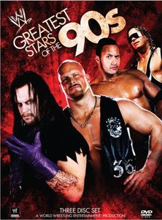 """Seriously four of the Best Wrestlers ever in the WWF/WWE : The Undertaker, Stone Cold Steve Austin, The Rock, and Bret """"the hitman"""" Hart"""