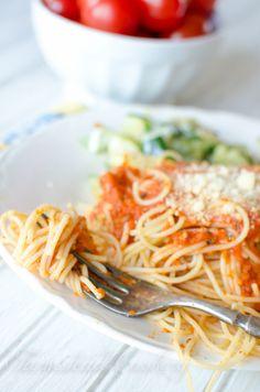 To je nejlepší Garden Fresh rajčatové omáčce (Je to tak snadné, dělá tuny, a to má instrukce konzervování!)