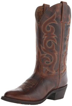 Laredo Women's Frankie Cowgirl Boot Round Toe * To view further for this item, visit the image link.