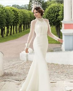 Lady of Quality – Tatiana Kaplun Bridal 2016 Collection - Braut Dream Wedding Dresses, Bridal Dresses, Wedding Gowns, Party Dresses, Beautiful Gowns, Bridal Collection, Vintage Dresses, Vintage Style Wedding Dresses, Unique Dresses