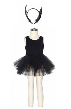 Swan Lake Ballerina Costume in Black at www.kokoblushandcompany.com