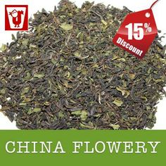 Take 15% SINGBULLI ORGANIC CHINA FLOWERY Tea from our E-Shop. Liqour : Bright with exclusive first flush China tea character.  Leaf : Nice first flush leaf with good bloom.  Infusion : Greenish Bright.