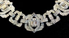 Madeleine's Edwardian necklace from Mary Kellogg-Joslyn's Titanic Museum Attractions jewelry.