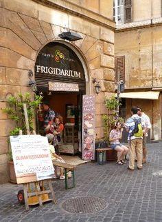 La Gelateria Frigidarium - Rome (Near Piazza Navona) Said to be the best!