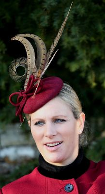 Zara Phillips, December 25, 2013 | The Royal Hats Blog