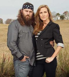 """Willie and Korie Robertson, stars of the popular """"Duck Dynasty,"""""""