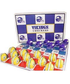 MN Viking NFL Checkers  $24.95