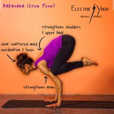 Crane Pose Yoga, Yoga Poses, Strengthen Shoulders, Yoga Master, Crow Pose, Arms And Abs, Mind Body Soul, Yoga Meditation, Yoga Inspiration