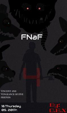 FNaF4 Zemsta pięciu Przyjaciół! Jeśli ci się podoba zostaw Like! 😁