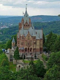 Drachenfels Castle, Germany.
