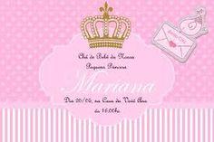 Resultado de imagem para convite de aniversarios princesa
