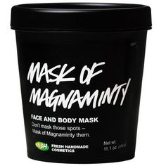 Mask of Magnaminty Face Mask - (4.4 oz) $13.95