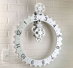 Hands Free Gear Clock #Awesome, #Home, #HomeDecor
