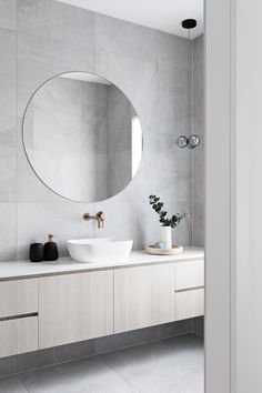 After Contemporary Bathroom Vanity 207 - kindledesignhome Ensuite Bathrooms, Bathroom Renos, Bathroom Vanities, Contemporary Bathrooms, Modern Bathroom, Bathroom Design Luxury, Bathroom Designs, Bathroom Ideas, Bathroom Colors