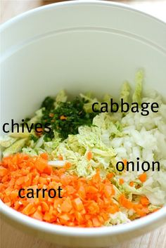 for the coleslaw-  1/2 head green cabbage, shredded  1/2 onion, finely diced  1 large carrot, grated  2 tablespoons chopped chives {optional}  1 cup mayonnaise  1/4 cup white vinegar  3 tablespoons sugar  salt & pepper, to taste