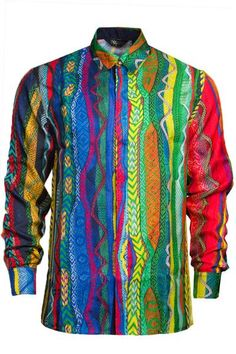 Coogi Silk Button Up Shirt | Pure Atlanta – PureAtlanta.com