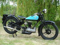 Vintage 1927 Triumph NSD, 550cc classic motorcycle