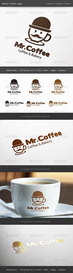 Mister Coffee Logo - Food Logo Templates