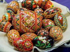 Pisanki #3 by Art Walaszek, via Flickr.  Pysanky eggs