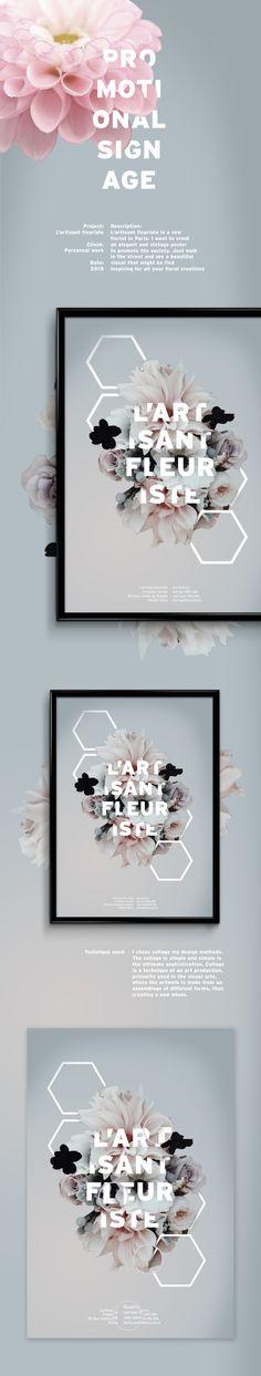 L'artisant fleuriste on Behance