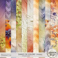 Personal Use :: Kits :: Dance Of Colors Full Kit