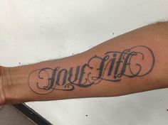 Ambigram Tattoo Designs 12