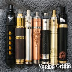 We carry only the finest, authentic mods and atties from around the world. Korea, Poland, Philippines, and American Made. We ship world wide! www.VapingGriffin.com