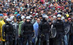Slovenia asks EU for help after arrival of 12.000 refugees