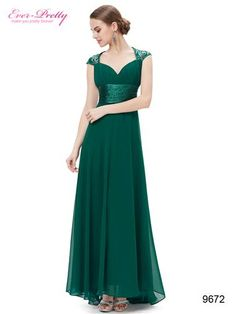 """Sexy  green v-neck  evening dress     Non-removable sequins  decorate the shoulders     Unique ruffles  at the bust area     Padded  enough for """"no bra"""" option     Trailing  style make it more exquisite     Lining, no stretch, side zip"""