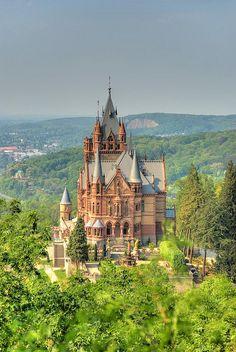 Dragon Castle, Schloss Drachenburg, Germany- BEAUTIFUL!